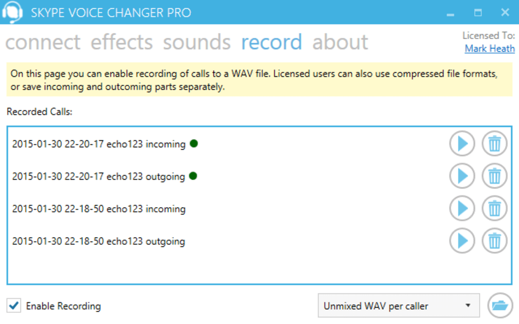 voice changer skype windows 8