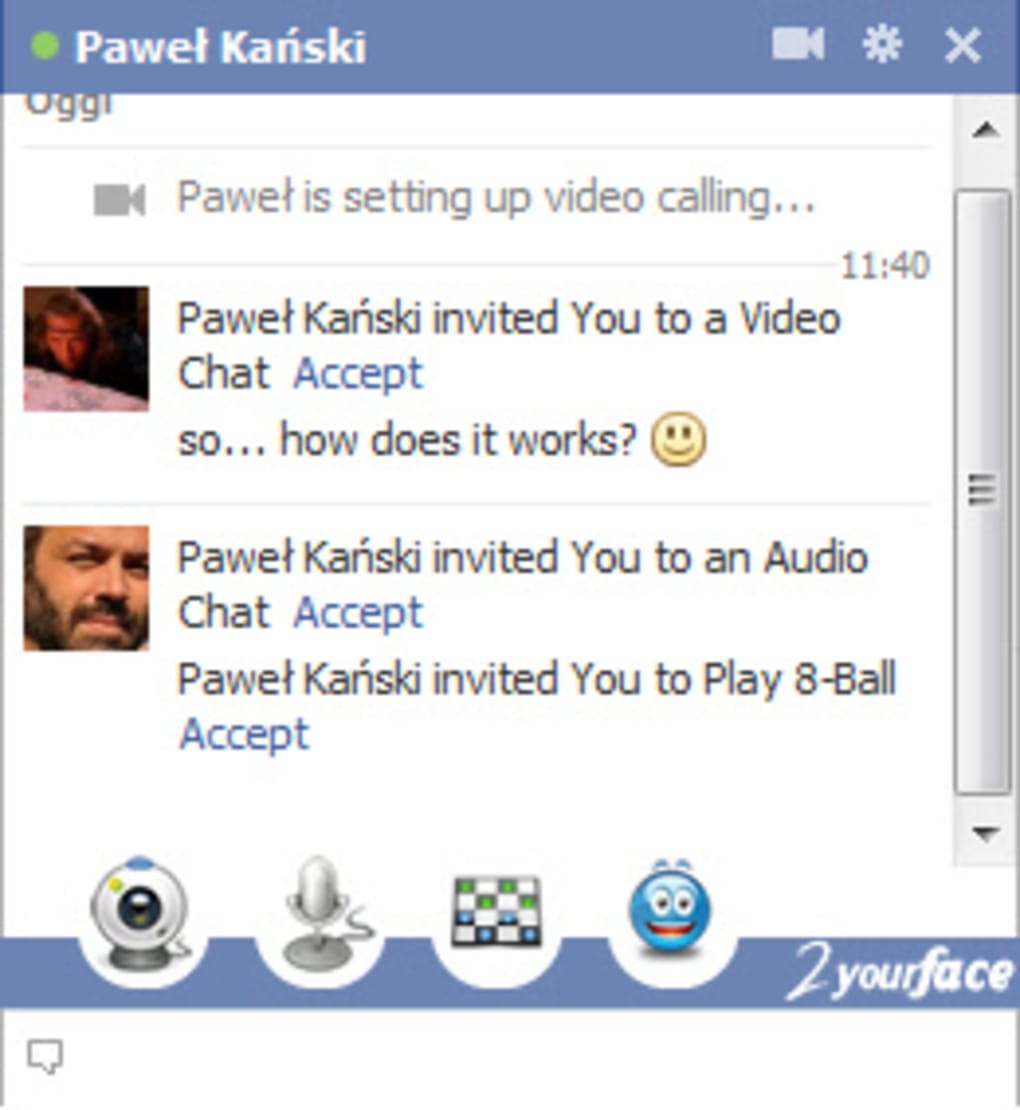 pc télécharger facebook chat