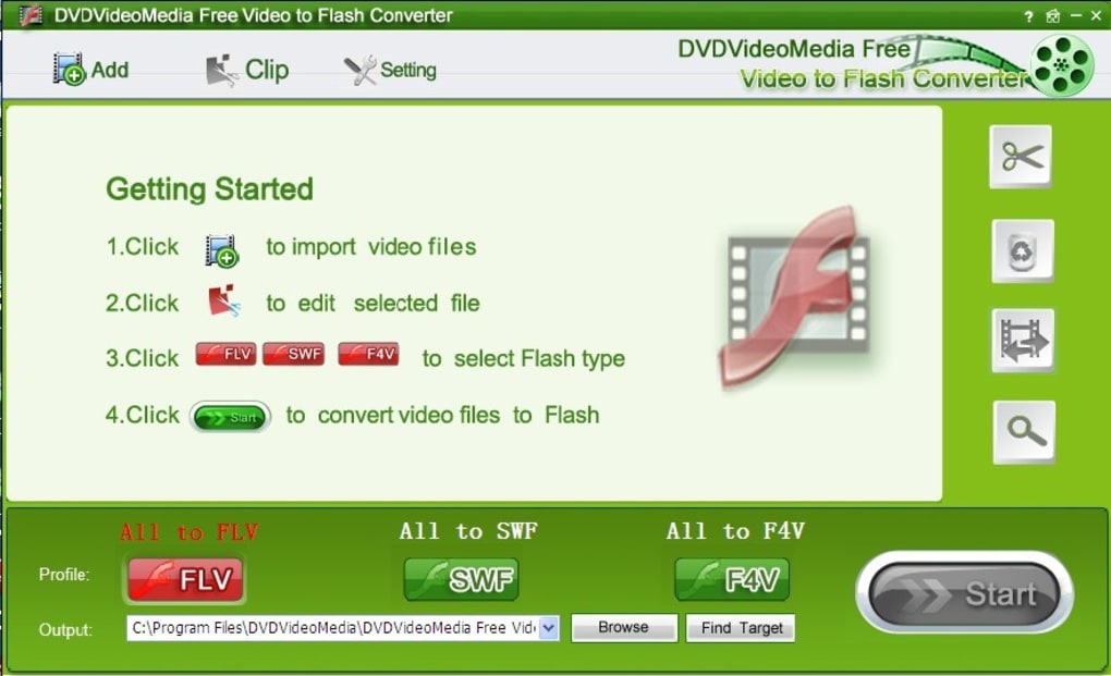 Free Video to Flash Converter - Download