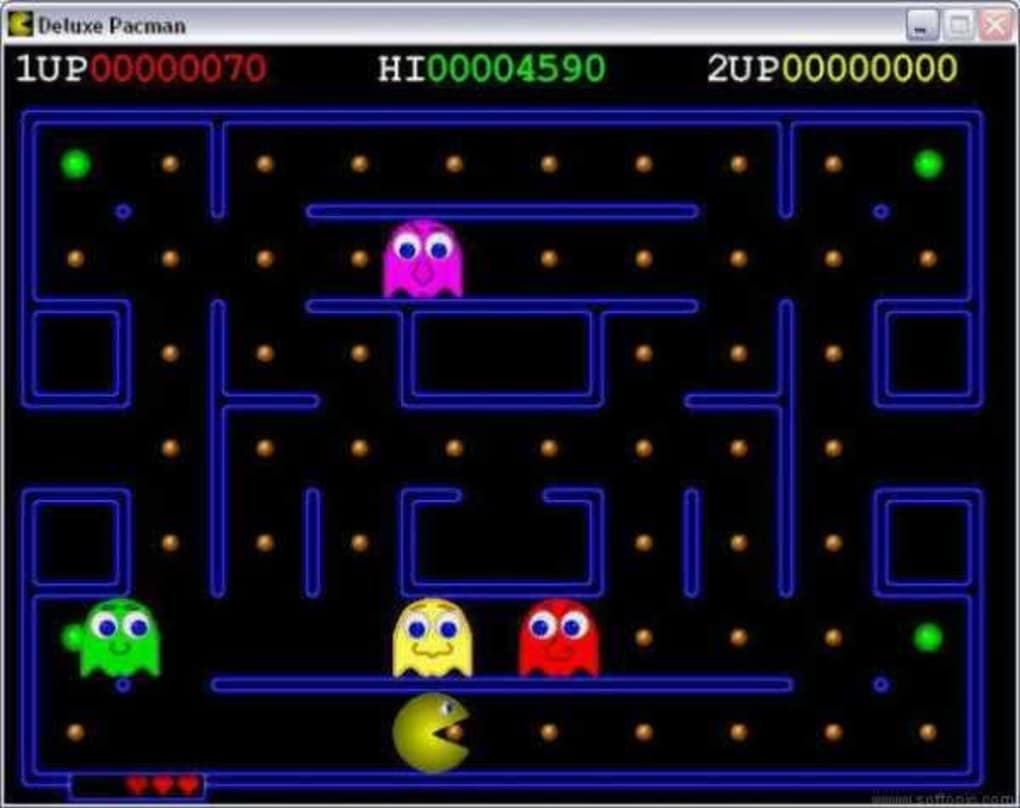 Play Pacman in Firefox