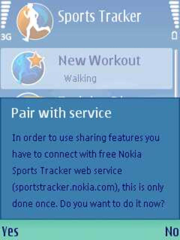 sport tracker per nokia e5