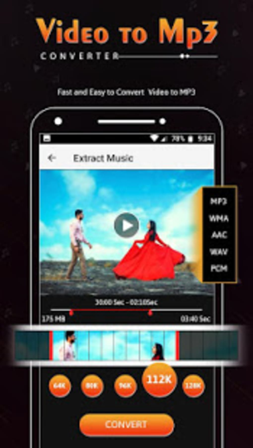 Video to Mp3 Converter Ringtone Maker Add Music for Android - Download