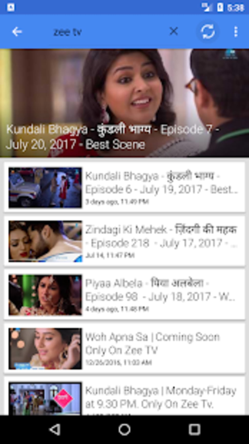 ZEE TV Channels for Android - Download