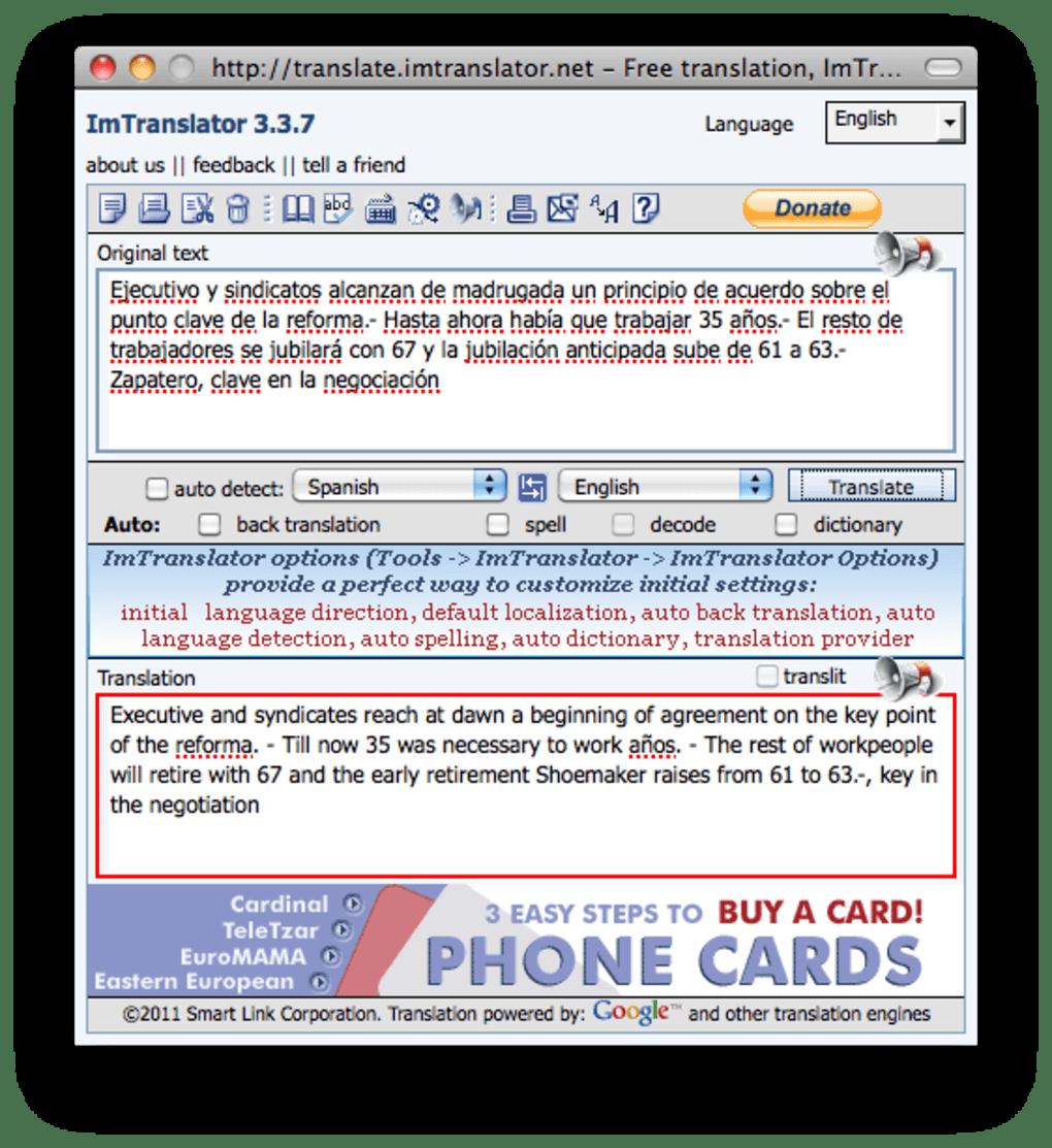 ImTranslator for Mac - Download