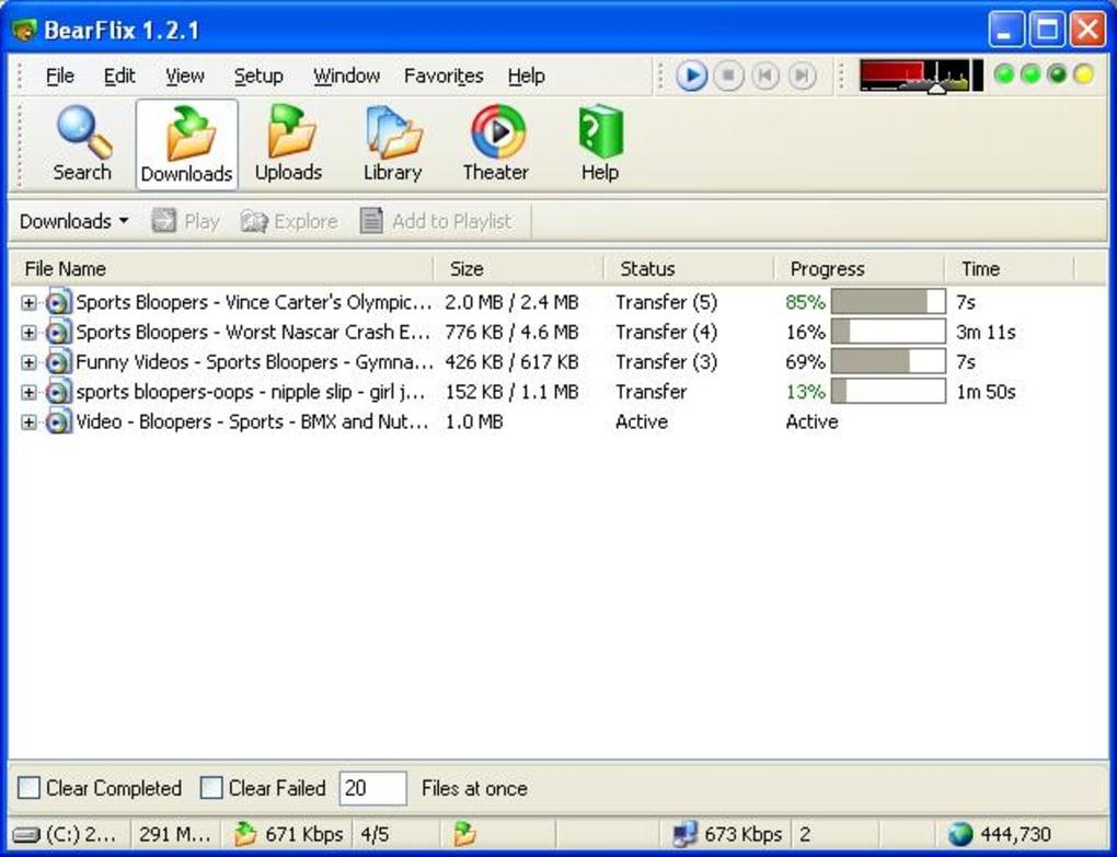 bearshare gratuit en franais pour windows 7