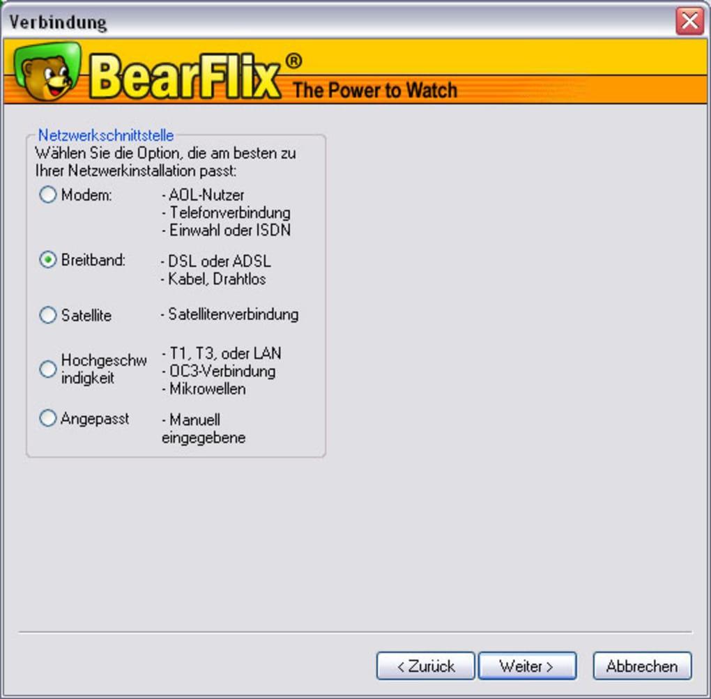 bearshare filme