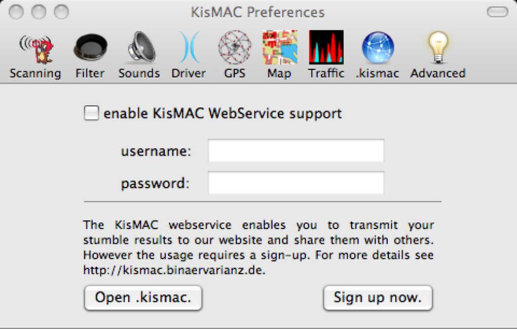 kismac crack wifi