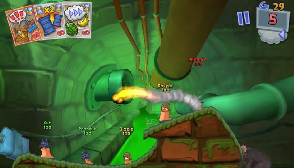 worms game free download mac