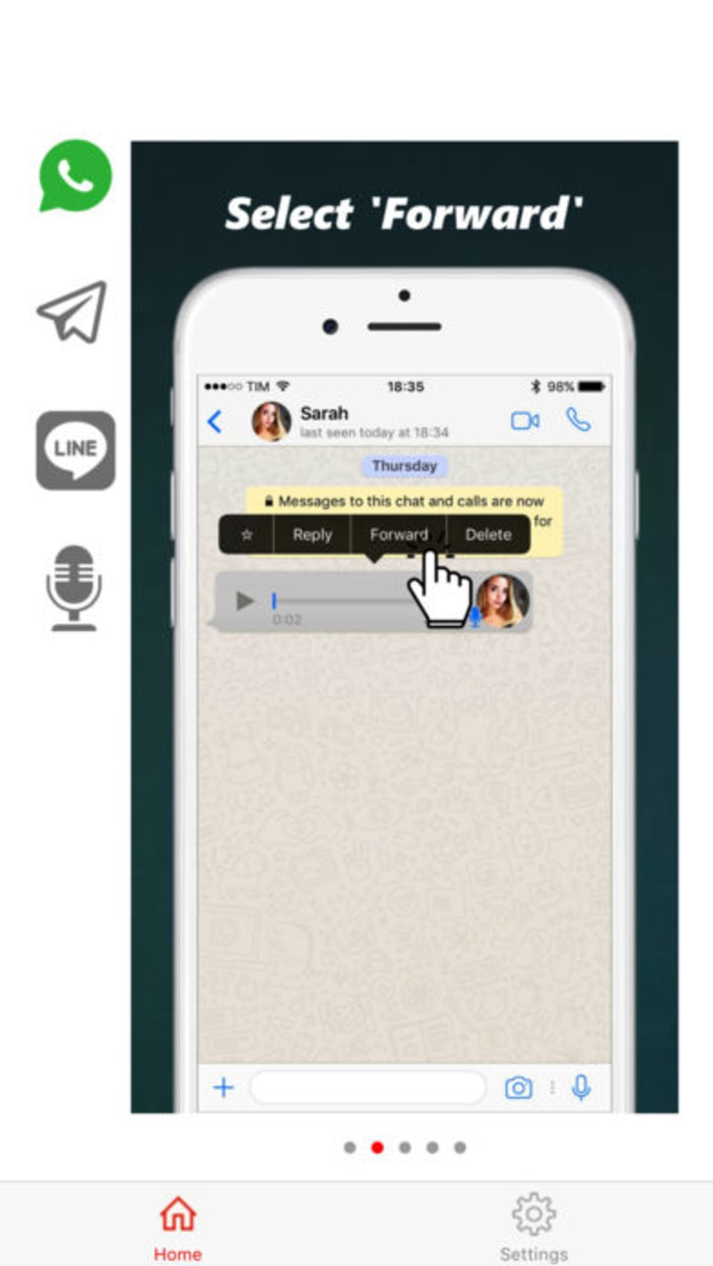 Audio To Text For Whatsapp Für Android