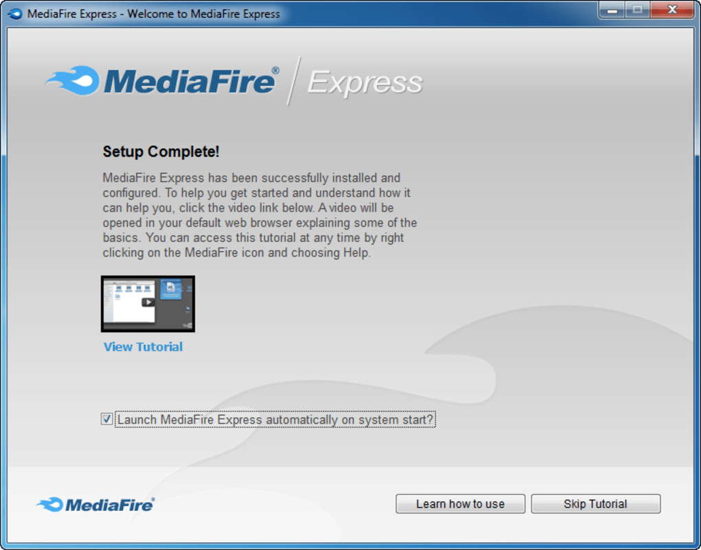 MediaFire Desktop - Download