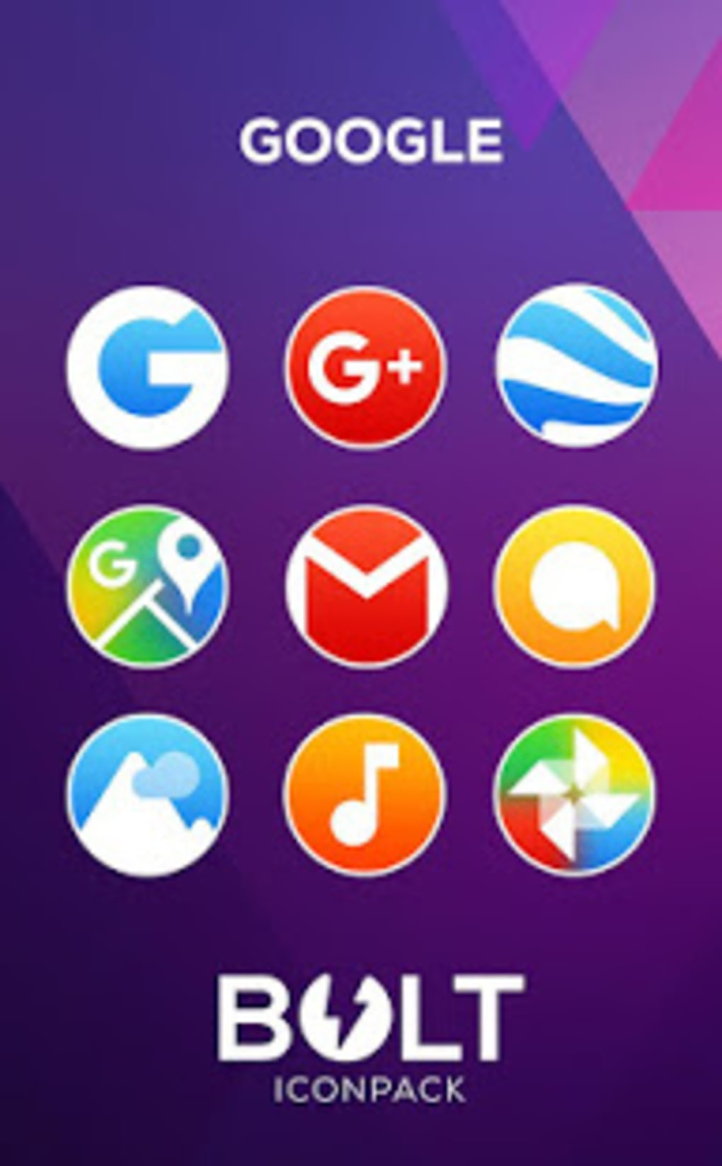BOLT Icon Pack