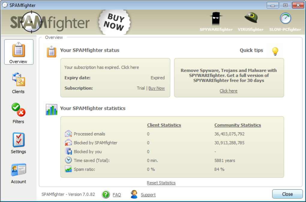 SPAMfighter - Download