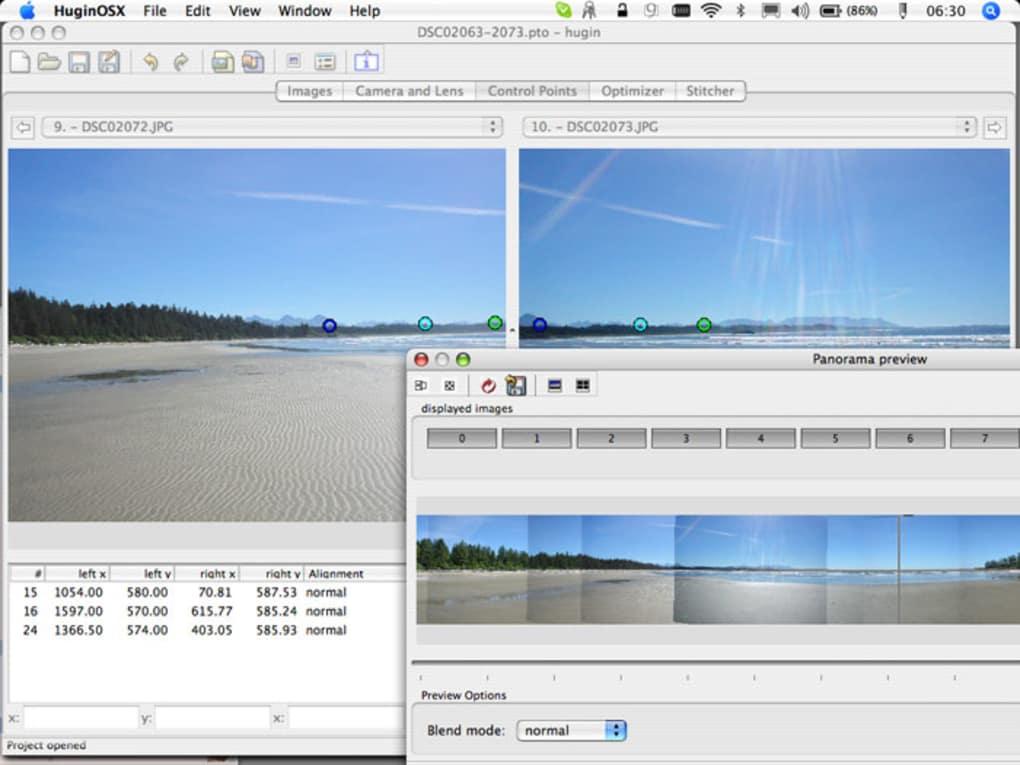 programa para fotos panoramicas mac