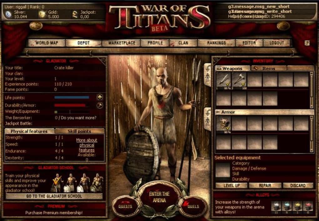 War of Titans - Download