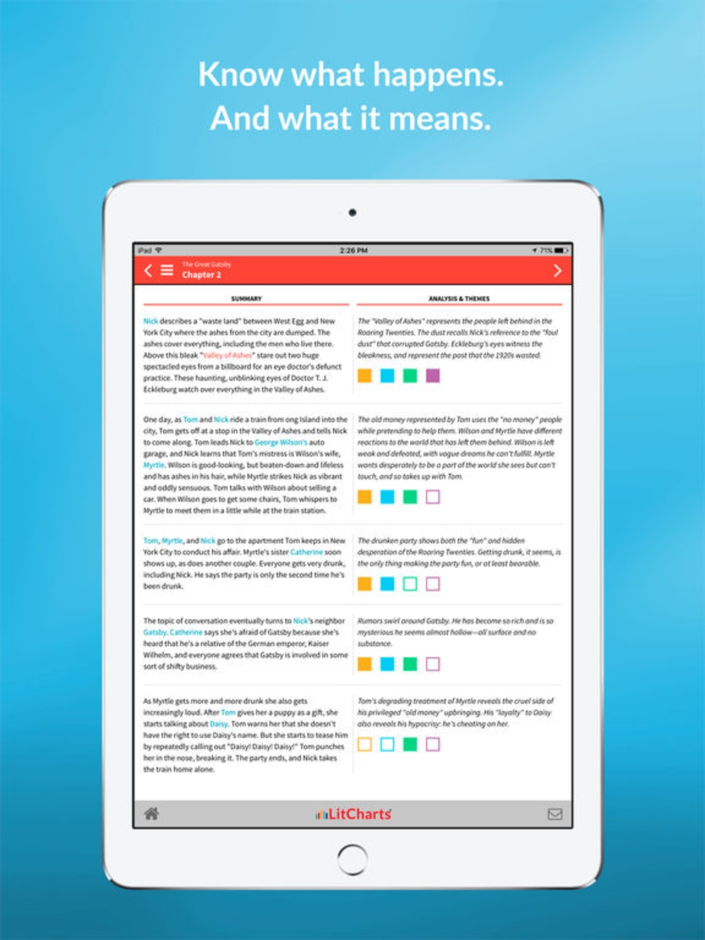 LitCharts for iPhone - Download