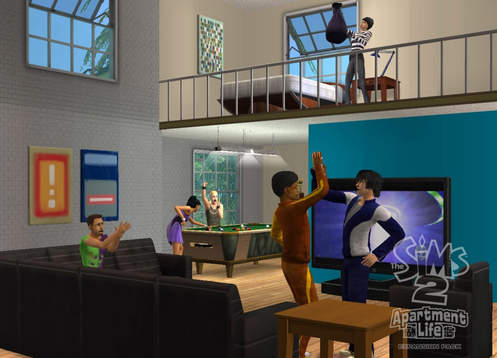 Download the sims apartment life for free