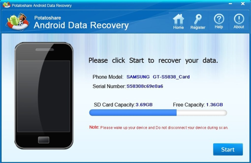 android sd card data recovery software free download