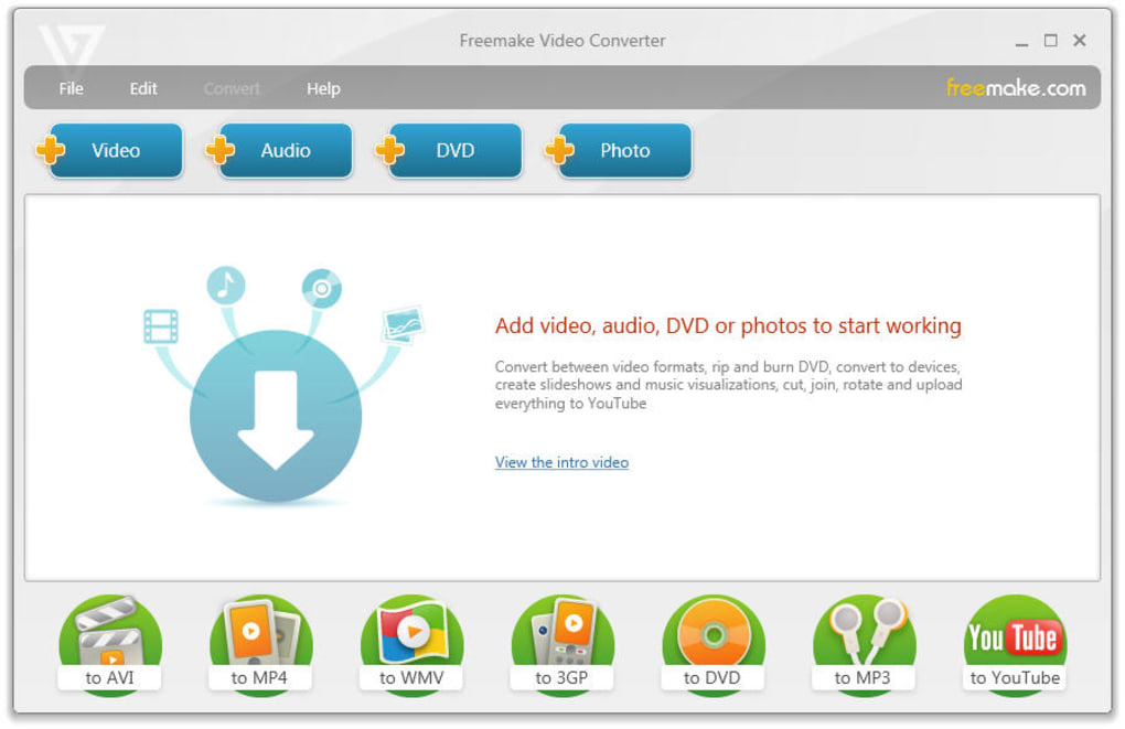 FREEMAKE CONVERTER TÉLÉCHARGER FRANCAIS VIDEO EN