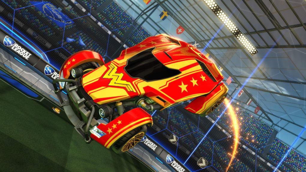 Rocket League® - DC Super Heroes DLC Pack