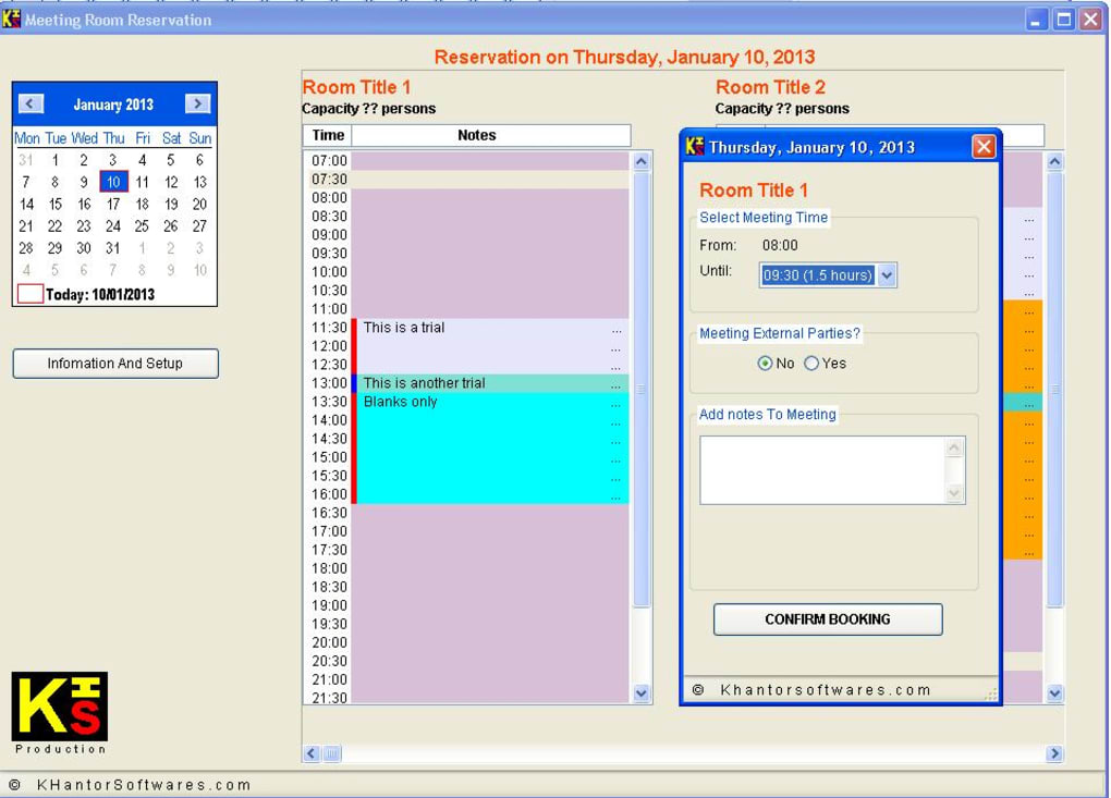 Reservation Software For Less Than  Rooms B B