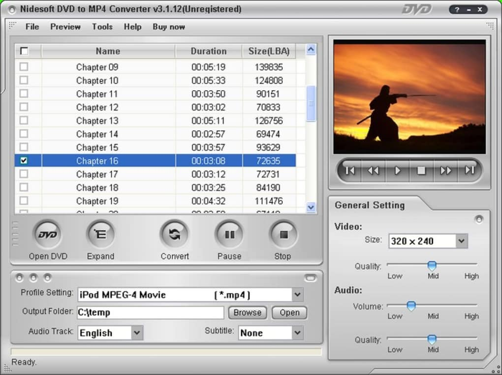 Nidesoft Dvd To Palm Converter - Free downloads and ...