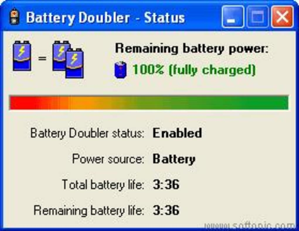 battery doubler gratuit