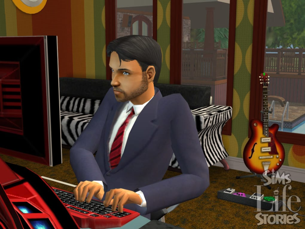 the sims life stories objects download