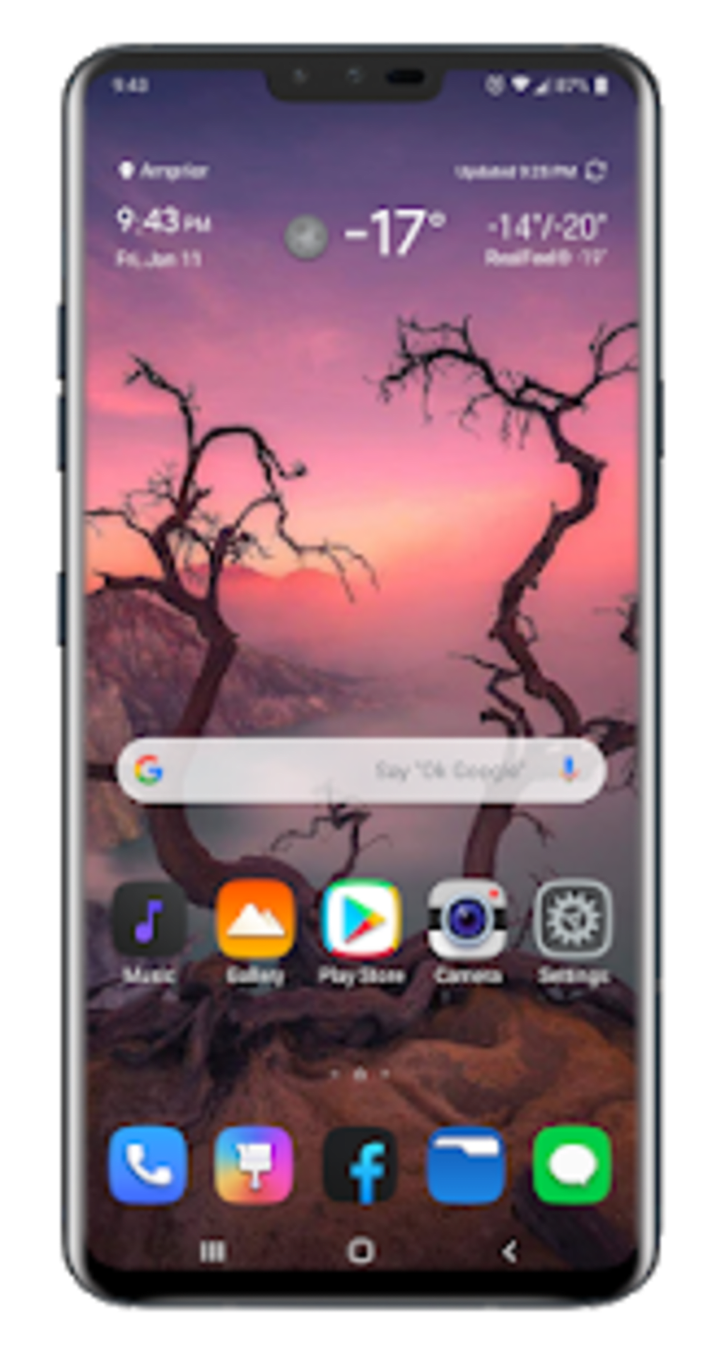 Twilight Theme for LG V20 LG G6 LG V30 LG G5 for Android - Download