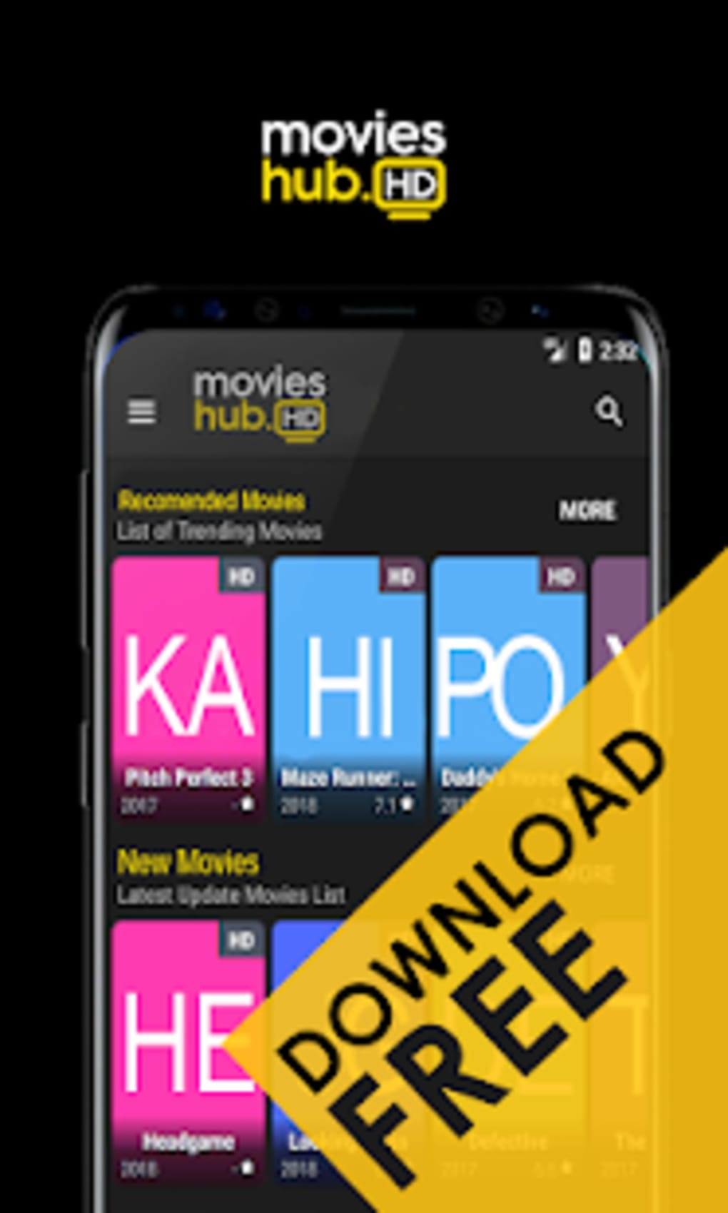 how to download free hd movies on android