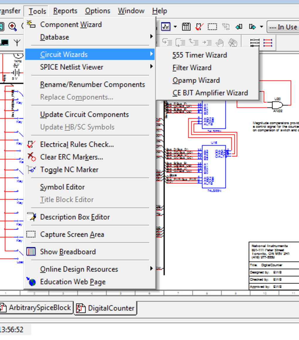 Ni Multisim Download Free Electronic Circuit Simulator Schematic Simple 1 12 Screenshots