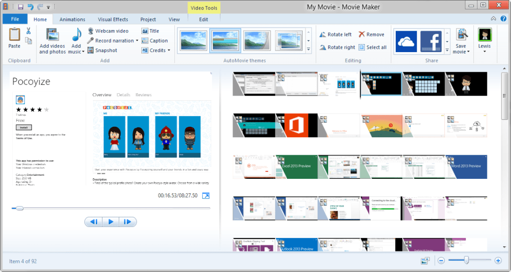 windows live movie maker 2012 free download english
