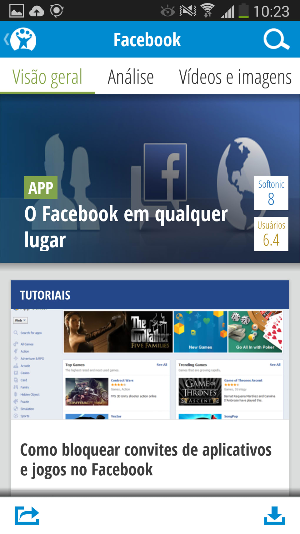 Softonic APK para Android - Download