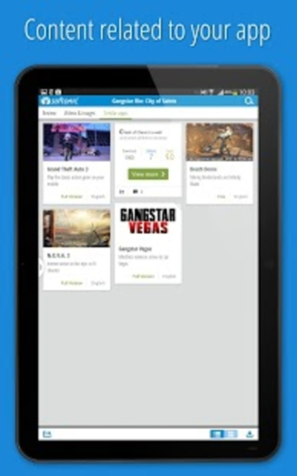Softonic for Android (Android) - Download