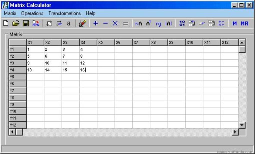 Matrix Calculator - Download