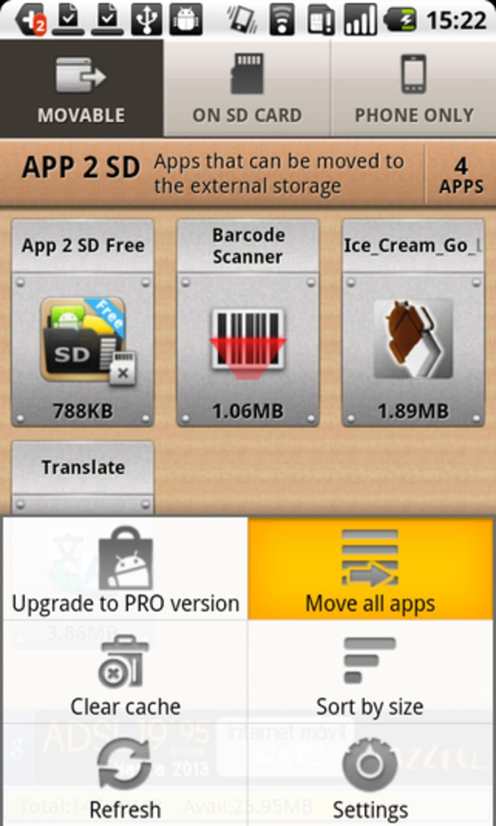 descargar appmgr pro iii apk