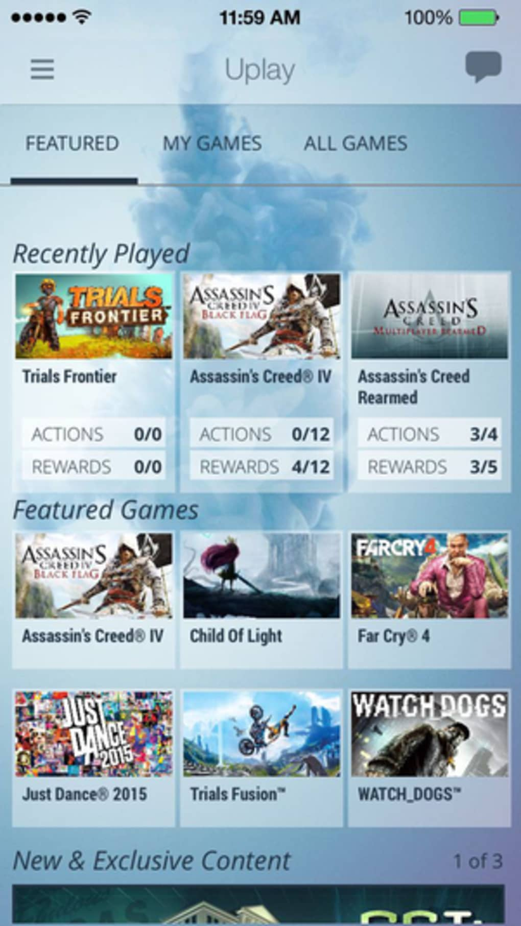 Uplay for iPhone - Download