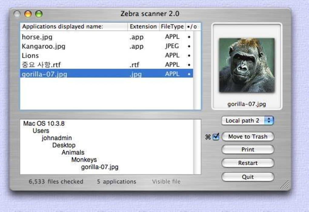 Zebra scanner for Mac - Download