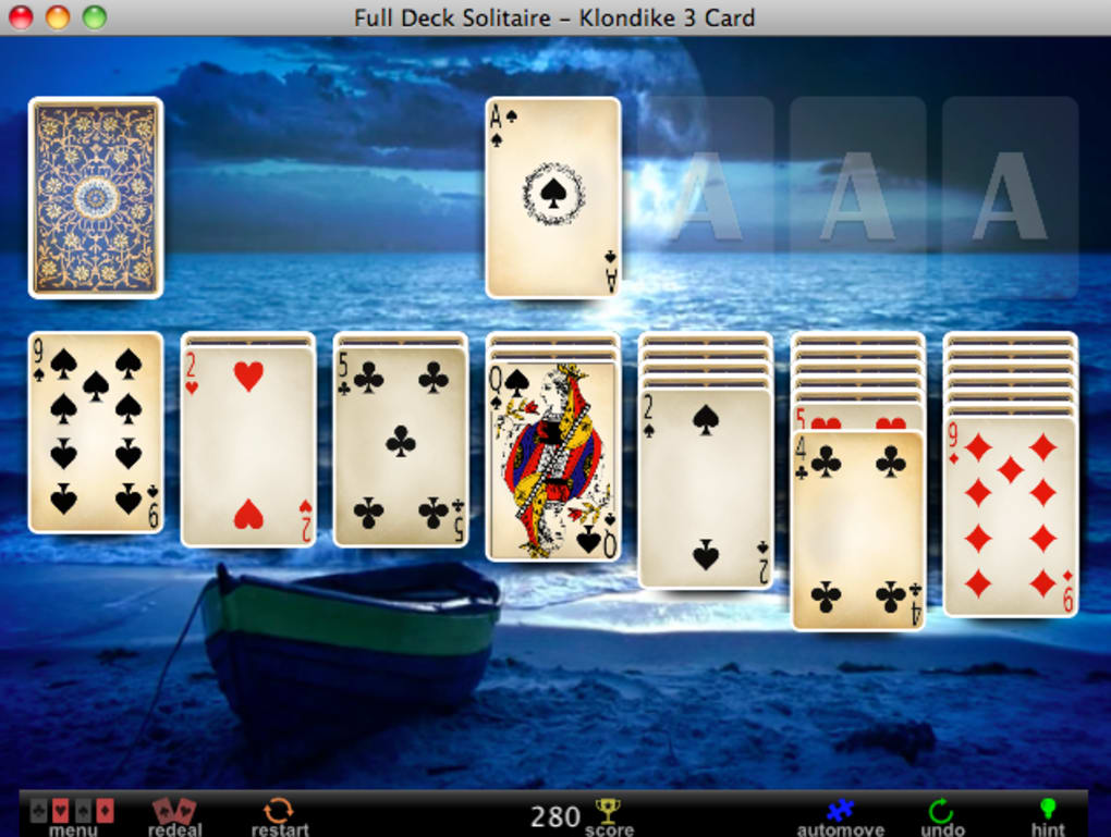 Full deck solitaire apk 191 free card apps for android: full deck.