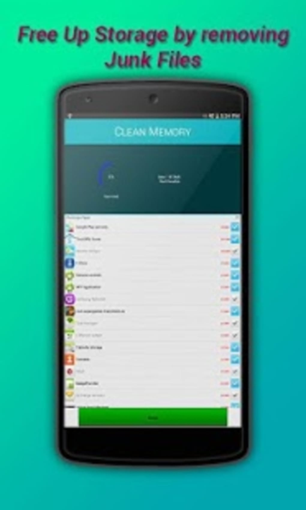 Clean Memory RAM Booster for Android - Download