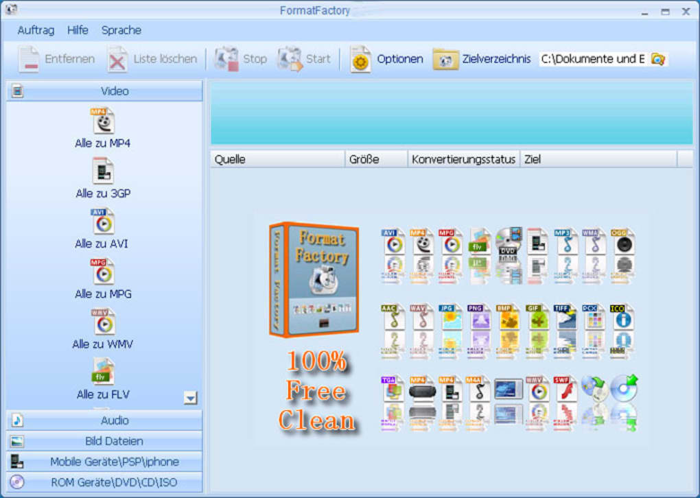 format factory 3.0 free download softonic