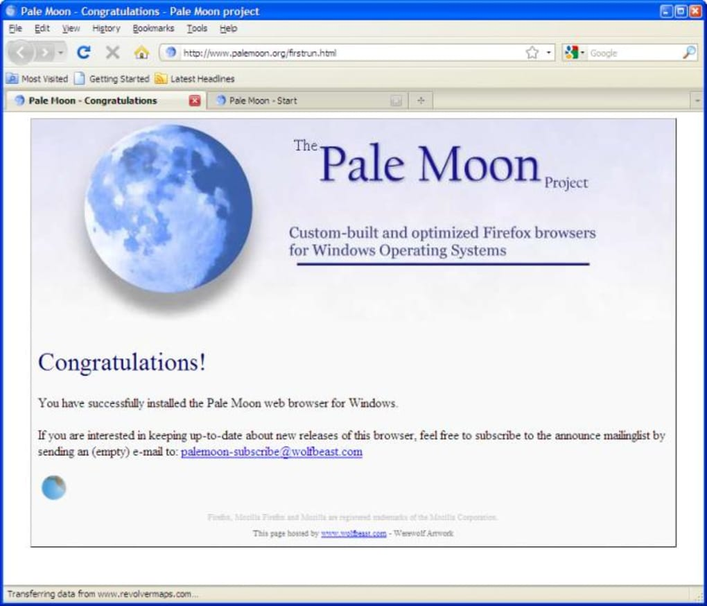 Pale Moon Portable - Download