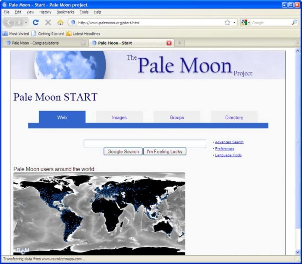 pale moon firefox add ons