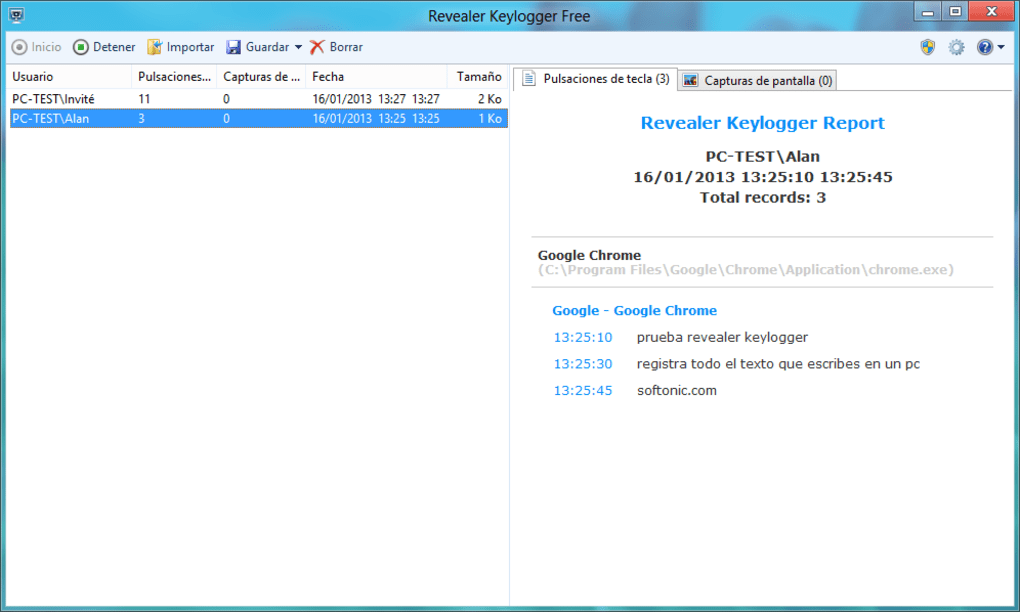 ayuda soft keylogger plus v 1.4