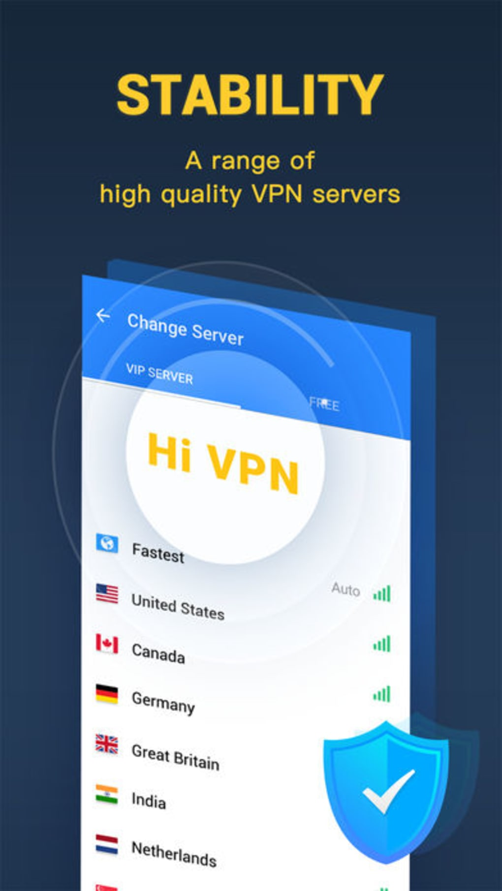 Hi VPN - Fast Secure VPN proxy for iPhone - Download
