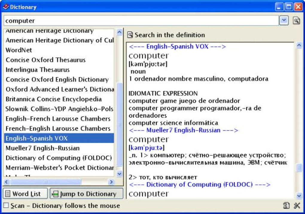 Ultimate Dictionary Download