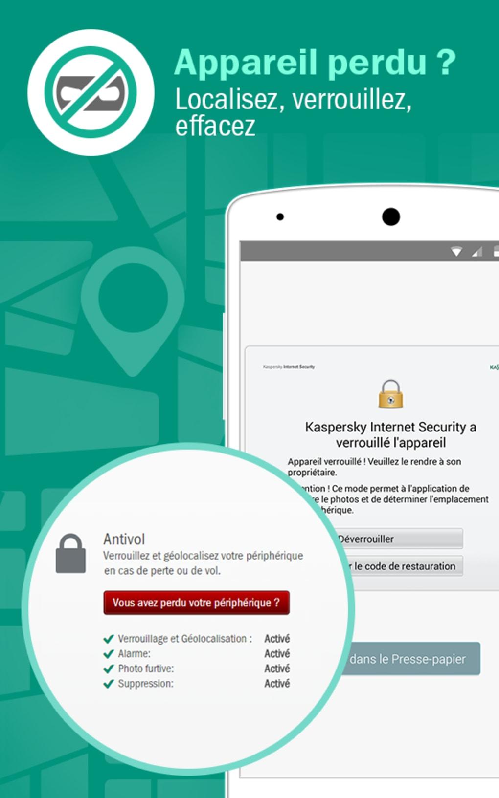 Kaspersky Internet Security pour Android - Télécharger
