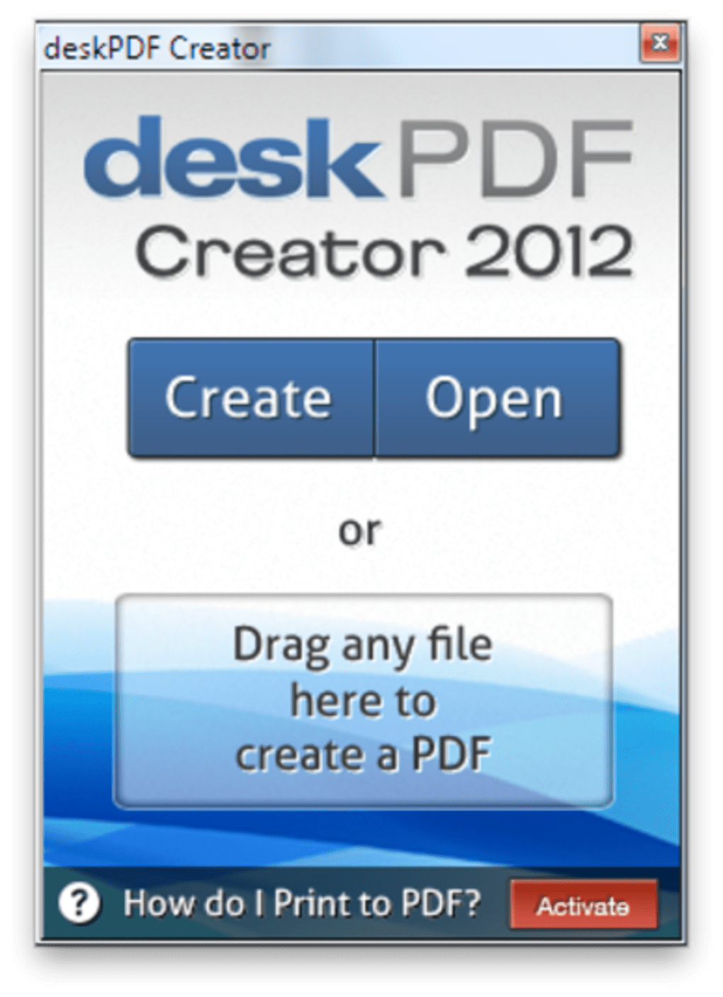 create pdf files from virtually any document free