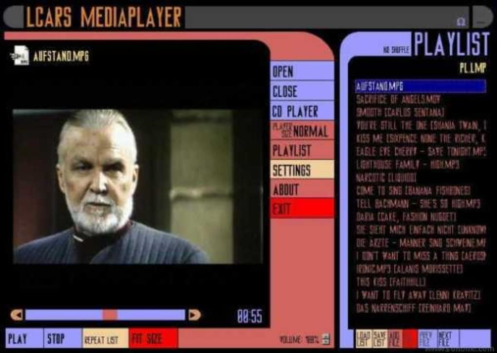 LCARS MediaPlayer - Download
