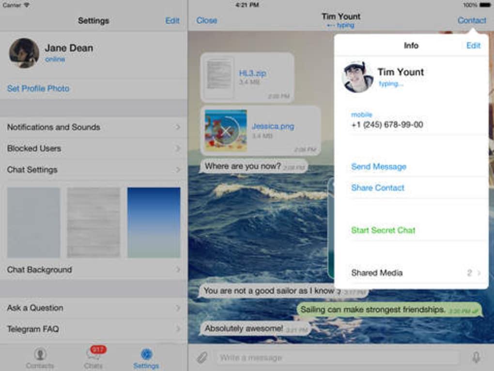 Telegram Messenger Fur Iphone Download