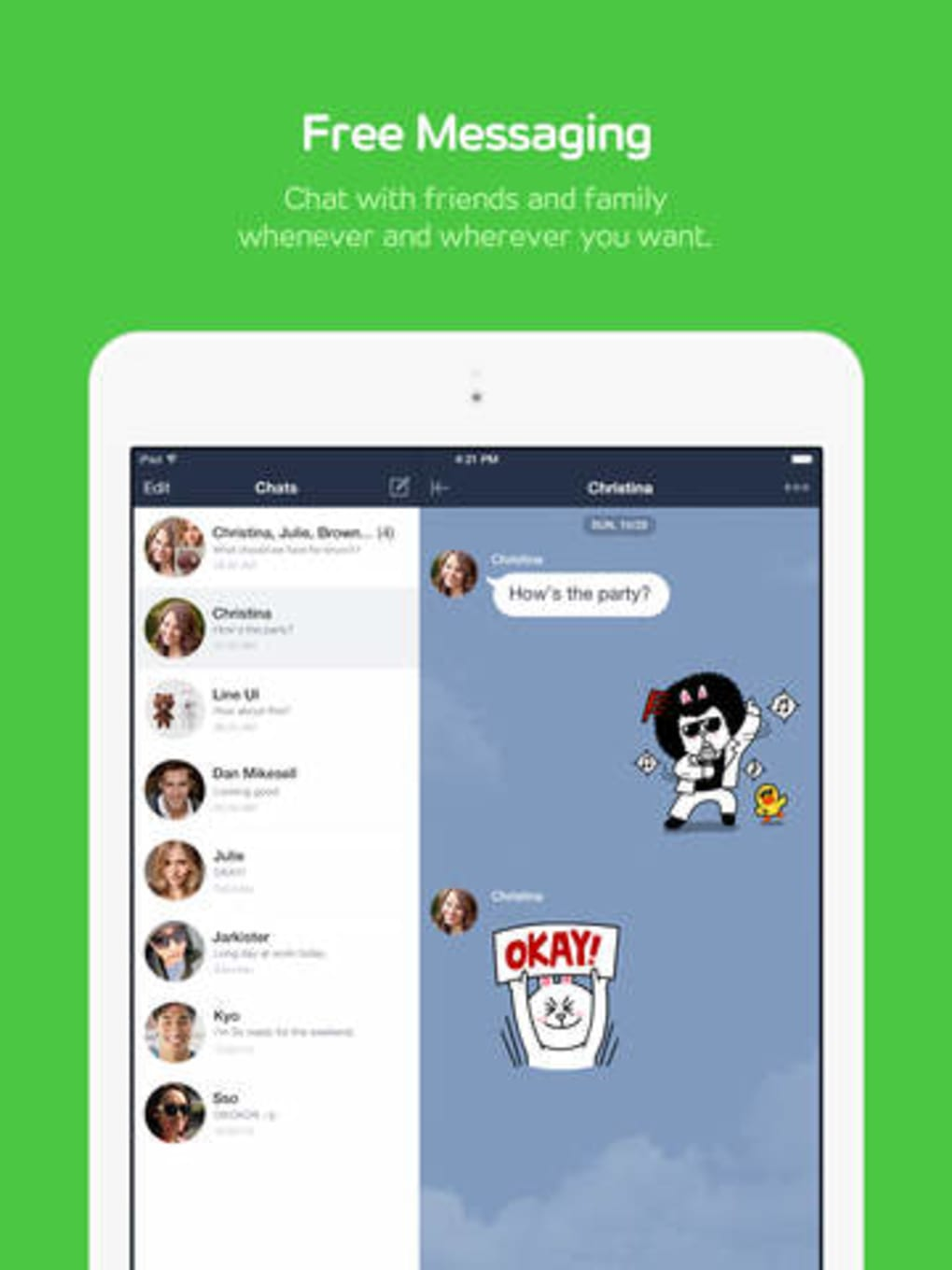 LINE for iPad for iPhone - Download